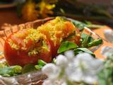 Autorės nuotr. / Kepti įdaryti pomidorai