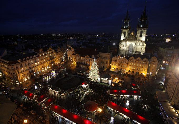 Reuters/Scanpix nuotr./Prahos kalėdinis turgus