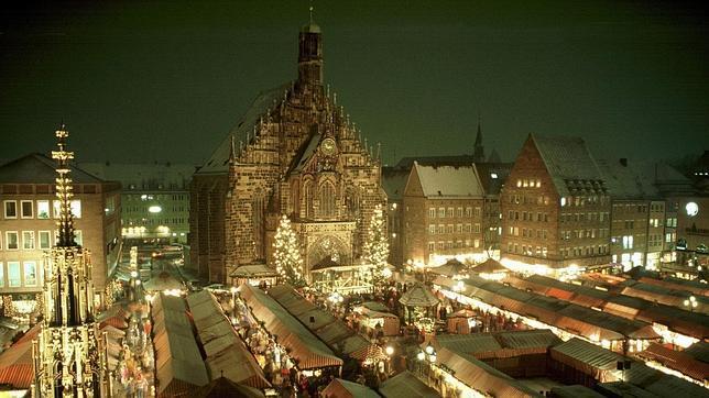 Niurnbergo kalėdinis turgus.