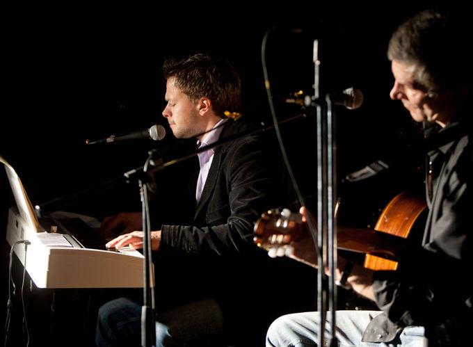 Sauliaus ir Jokūbo Bareikių koncerto akimirka