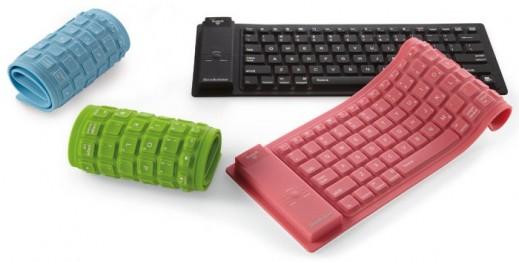 Gamintojo nuotr./Silikoninė klaviatūra iPad kompiuteriui
