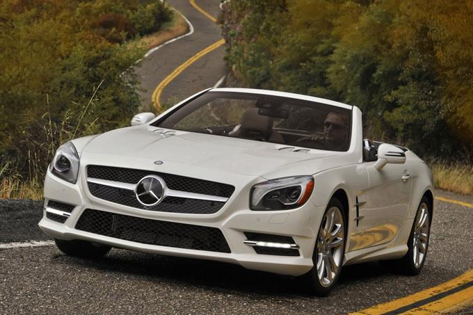 Gamintojo nuotr./Mercedes-Benz SL550