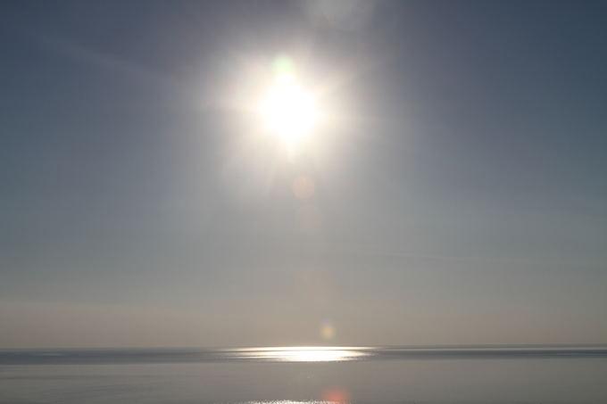 Evelinos ir Karolio nuotr. /Saulė atsispindi Meksikos įlankoje