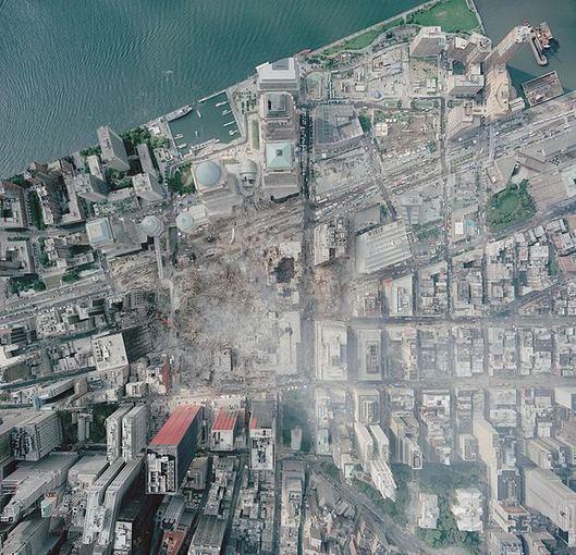 Wikimedia.org nuotr. /Taip atrodė nelaimės vieta 2001 m rugsėjo 23-čiąją