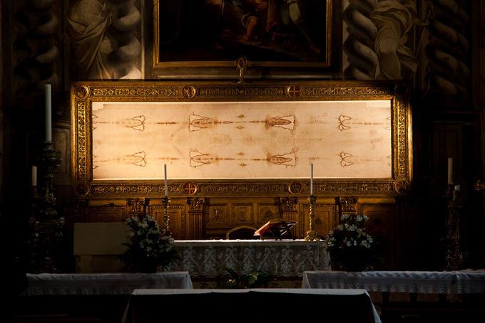 Fotolia nuotr./Turine saugoma ypatinga relikvija - Jėzaus drobulė.