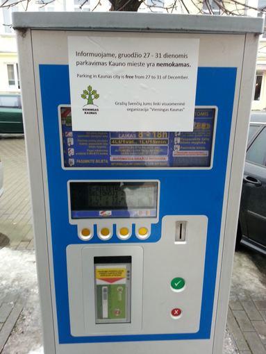 VK nuotr./Mokėjimo aparatas