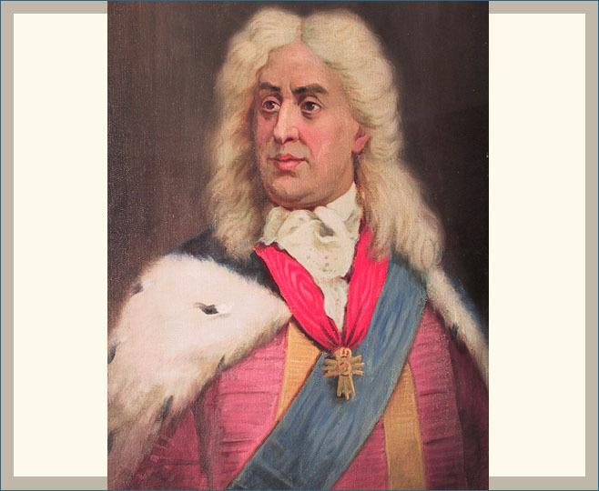 Augustas II Stiprusis.