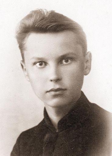 Taip Jonas Voveris atrodė būdamas gimnazistu.