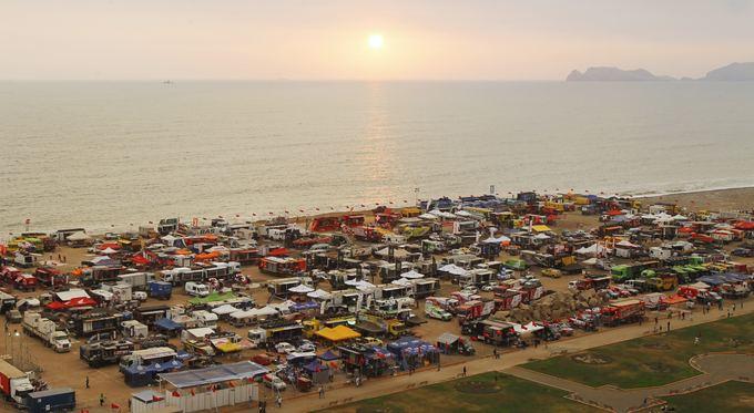 Scanpix nuotr./Dakaro ralio dalyvių parkas