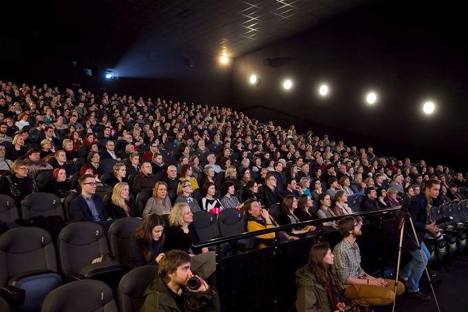 Viganto Ovadnevo/Žmonės.lt nuotr./Iaankstinės Auroros peržiūros akimirka