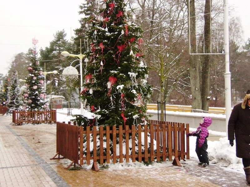 Palangoje laukiama svečių, kitą savaitę švęsiančių stačiatikių Kalėdas.