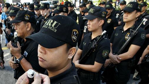 Полиция Филиппин.