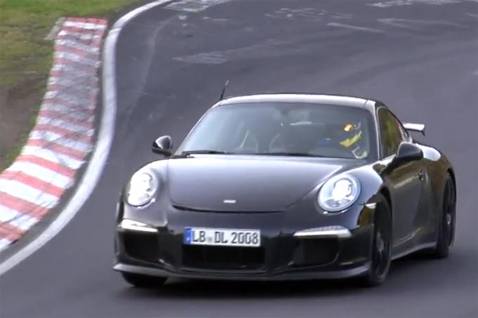 """""""Porsche 911 GT3"""" prototipas"""