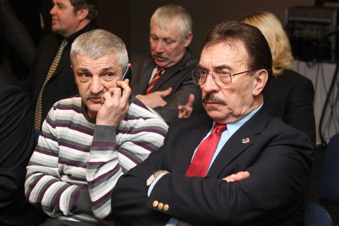 Juliaus Kalinsko / 15min nuotr./Vladimiras Bajevas ir Algirdas Arėška