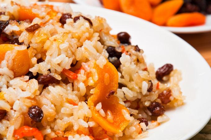 Fotolia nuotr./Vaisinis ryžių plovas