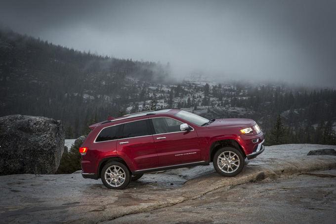 Gamintojo nuotr./Jeep Grand Cherokee