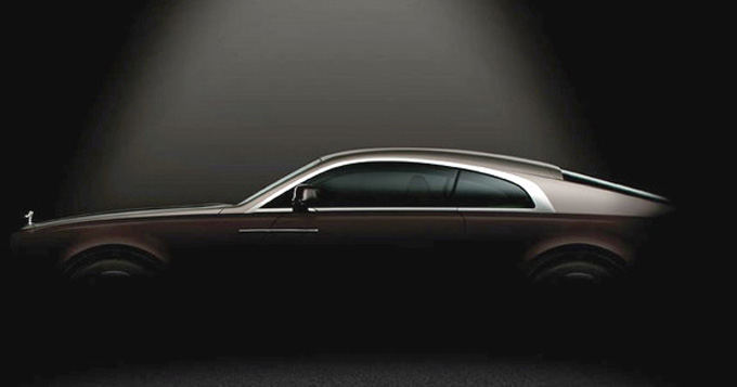 Gamintojo nuotr./Rolls-Royce Wraith fragmentai
