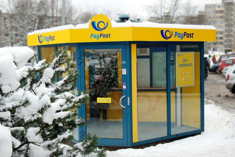 """""""PayPost"""" kioskelis"""