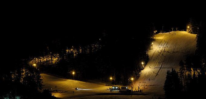 Donato Lazausko nuotr./Snieglenčių varžybos Ignalinoje