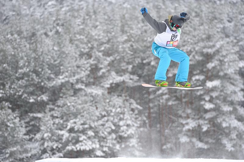 Snieglenčių varžybos Ignalinoje