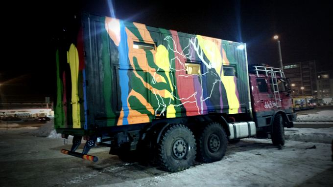 Be sienų/B.Tilmantaitės nuotr./Sunkvežimis pasiruoaęs Sibiro platumoms