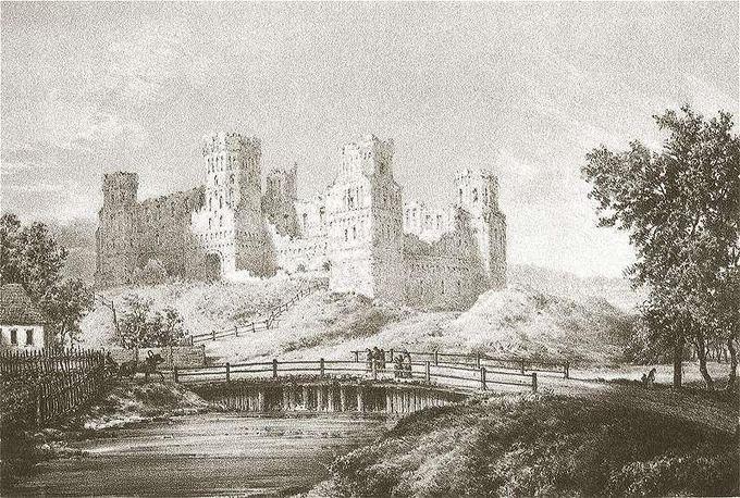Myriaus pilis, pastatyta Mikalojaus Iljiničiaus palikuonių
