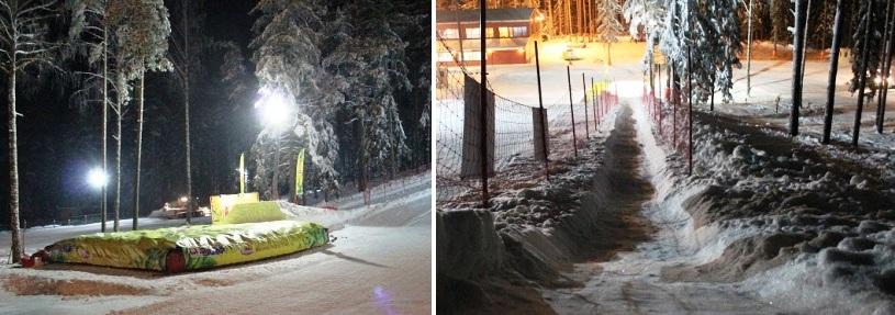 Druskininkuose – nauja trasa sniegletininkams ir ekstremalūs šuoliai ant oro pagalvių