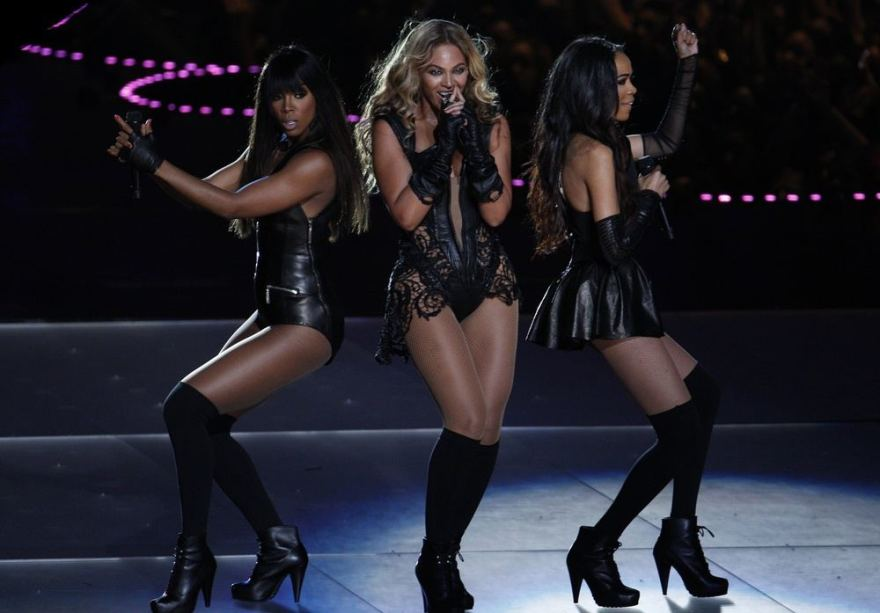 Ia kairės: Kelly Rowland, Beyonce ir Michelle Williams