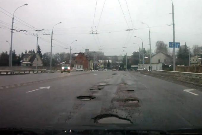 Duobės Kauno gatvėse