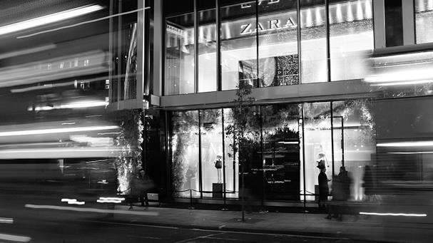 zara.com nuotr./Zara prekybos centras Londone