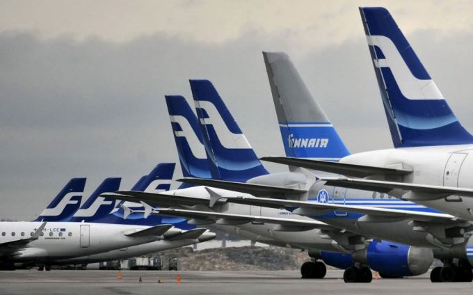 "AFP/""Scanpix"" nuotr./""Finnair"" lėktuvai"