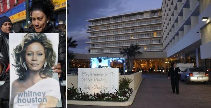 Viešbutis, kuriame mirė Whitney Houston