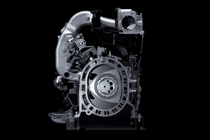 Gamintojo nuotr./Mazda rotorinis variklis