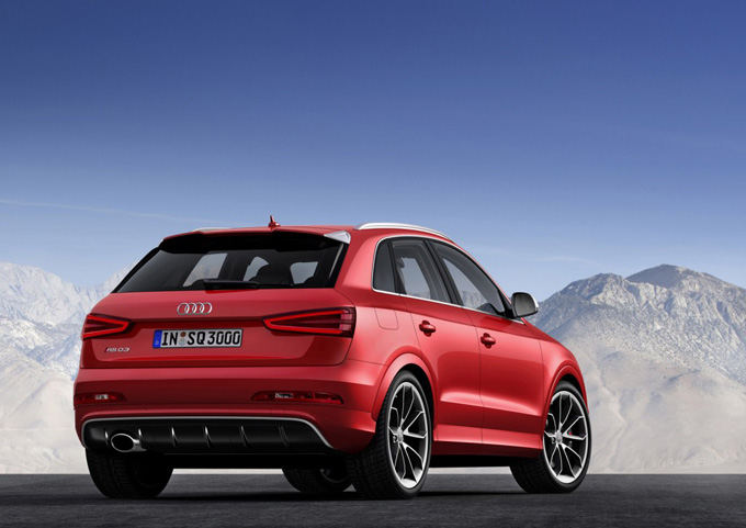 Gamintojo nuotr./Audi RS Q3