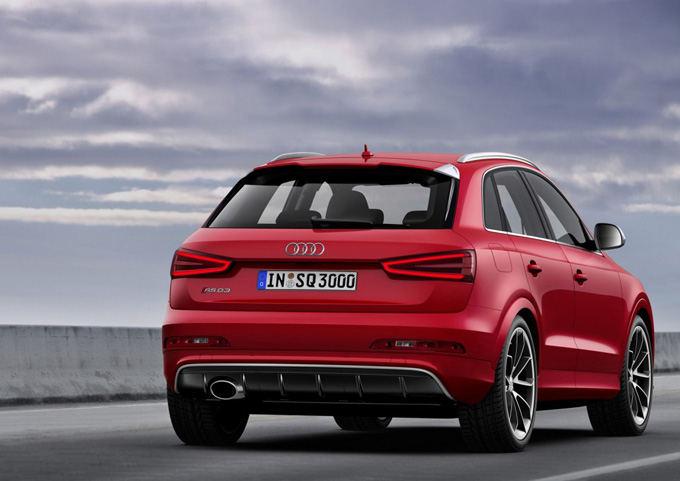 Gamintojo nuotr./Audi RS Q3