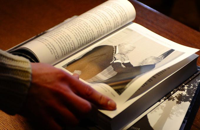 Luko Balandžio nuotr./Knyga Žmogus laiko taikinyje