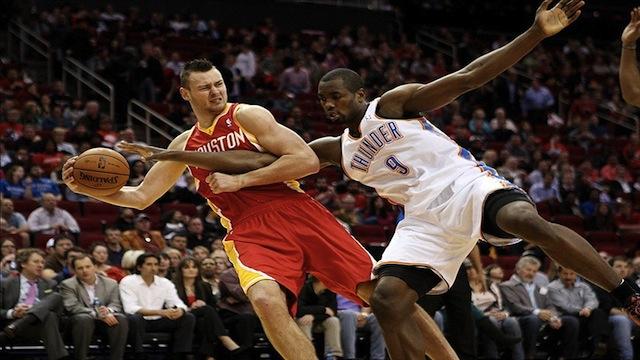 Donatas Motiejūnas įsitvirtina NBA