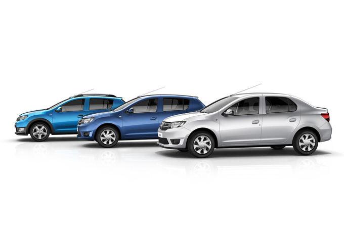 Gamintojo nuotr./Dacia automobiliai