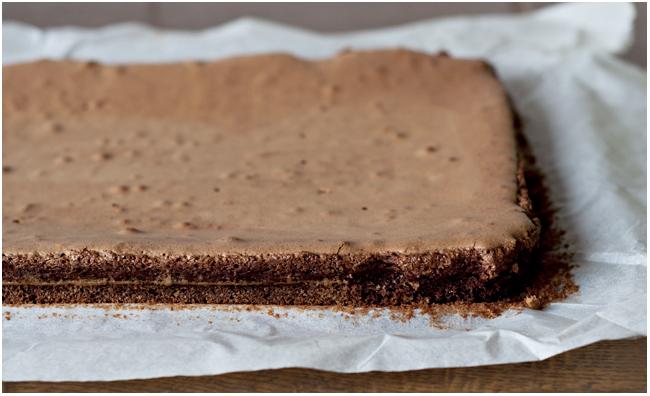 A. Černės nuotr./`okoladinis pyragas Brownie