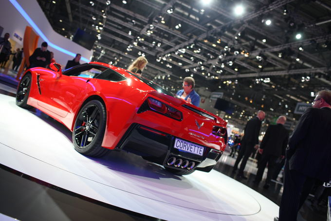 Algirdo Venskaus/Waska.lt nuotr./Chevrolet Corvette Stingray