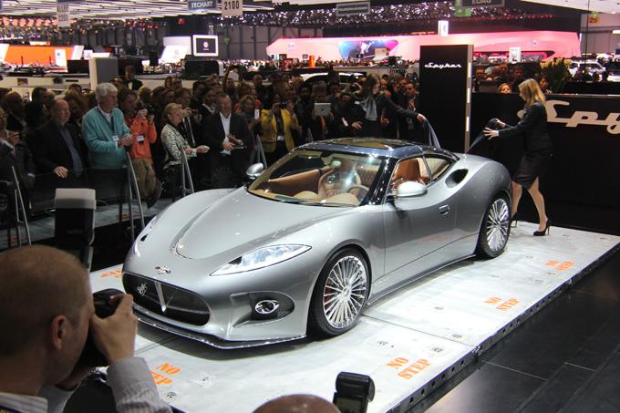 """Spyker B6 Venator"" pristatymas"