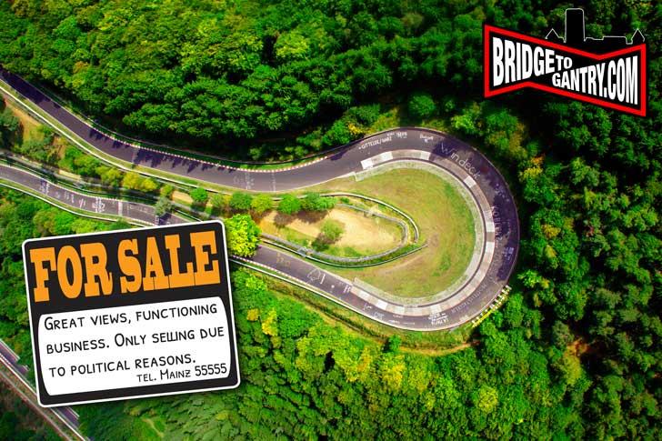 Niurburgringas parduodamas