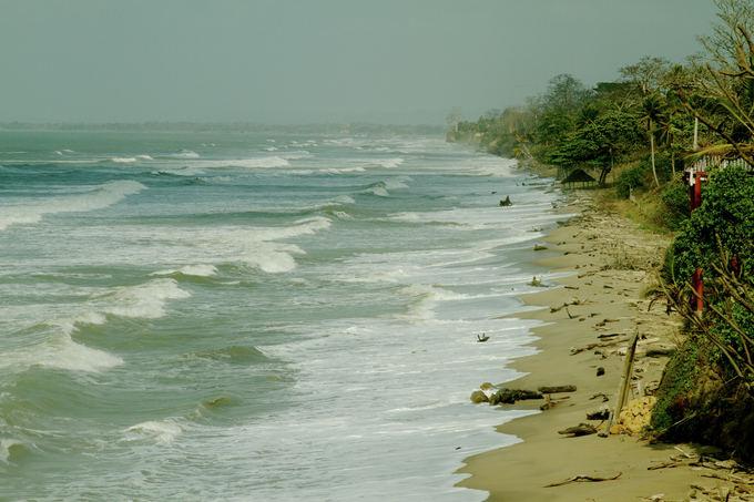 Evelinos ir Karolio nuotr./Karibų jūros pakrantė.