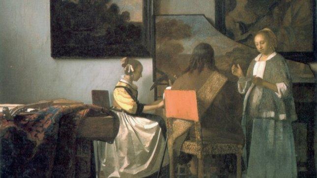 Vienas iš pavogtų J. Vermeerio paveikslų