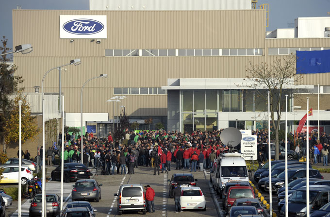"""Ford"" gamykla Genke, Belgijoje"