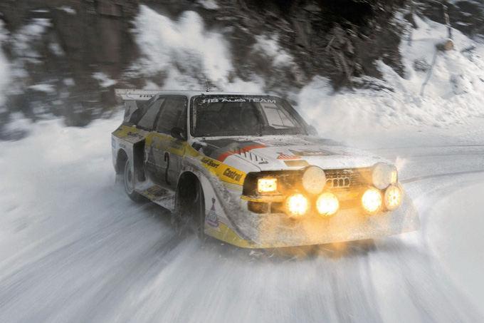 Gamintojo nuotr./Audi Sport Quattro