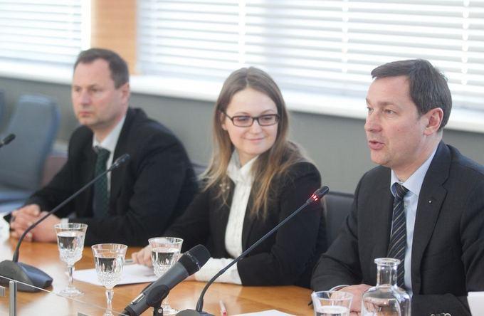 Justė Pačkauskaitė ir Artūras Zuokas