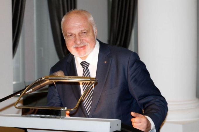 gravitas.lt nuotr./Aplinkos ministras Valentinas Mazuronis sveikina dalyvius ir organizatorius
