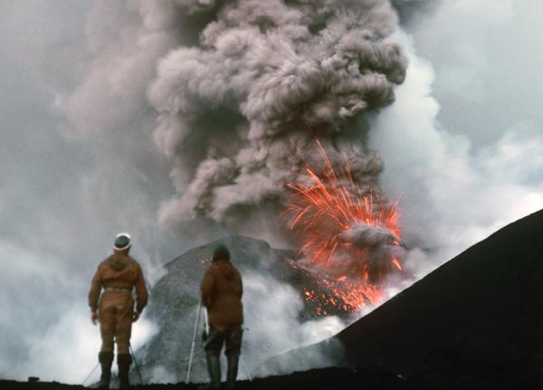 Tolbačiko ugnikalnis ir ugningoji Kamčiatkos žemė