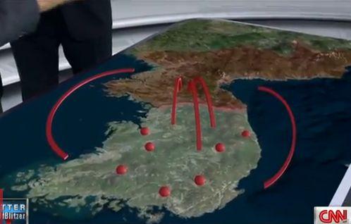 Galimas Šiaurės Korėjos veiksmų planas.